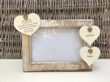 Shabby personalised Chic Photo Frame Auntie Aunty Great Aunt Any Name Etc - 232992665146